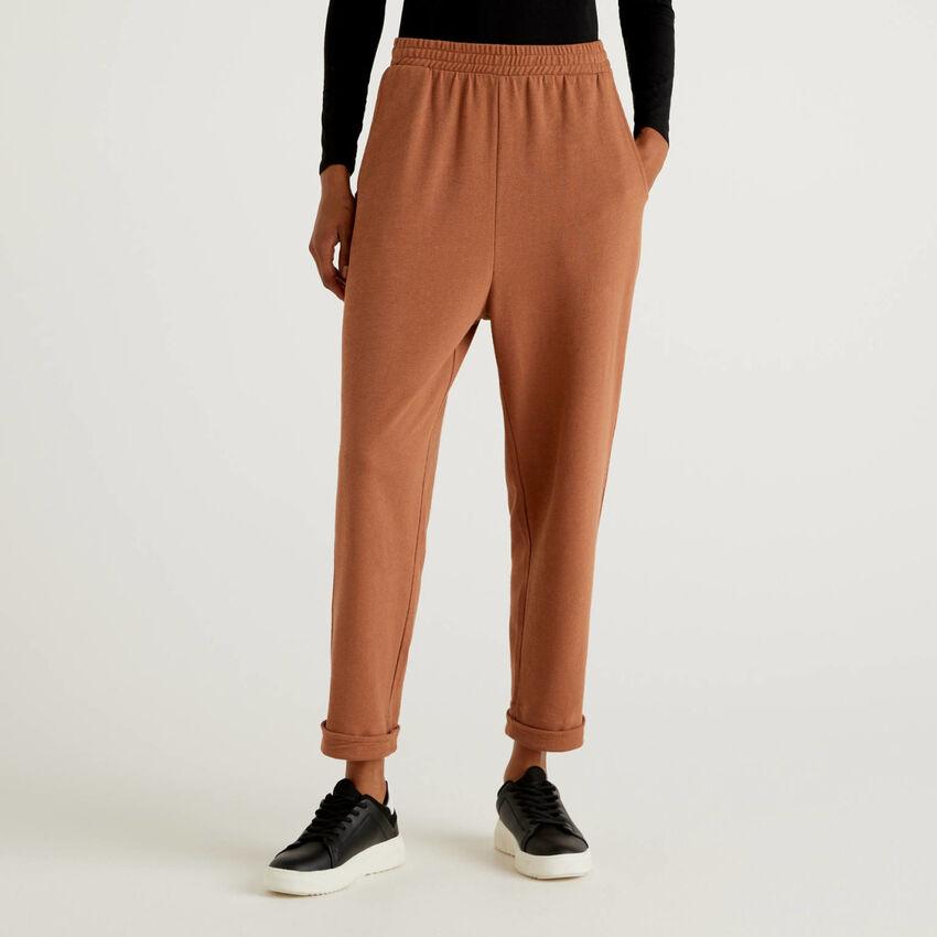 Pantalon en 100% coton bio
