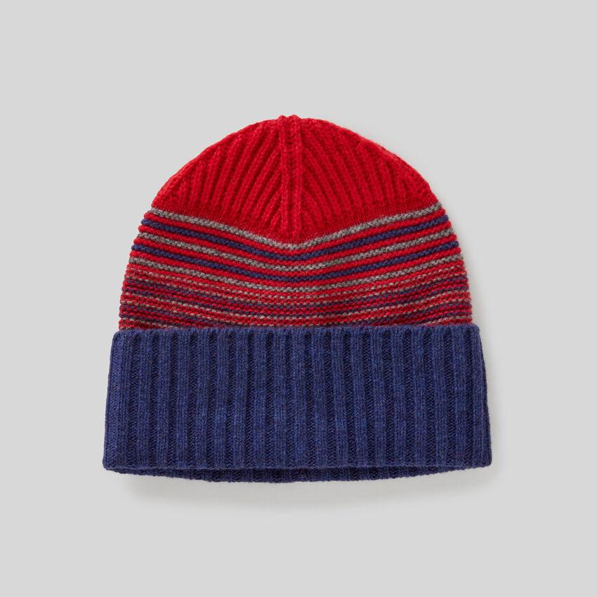 Mütze mit Saumaufschlag