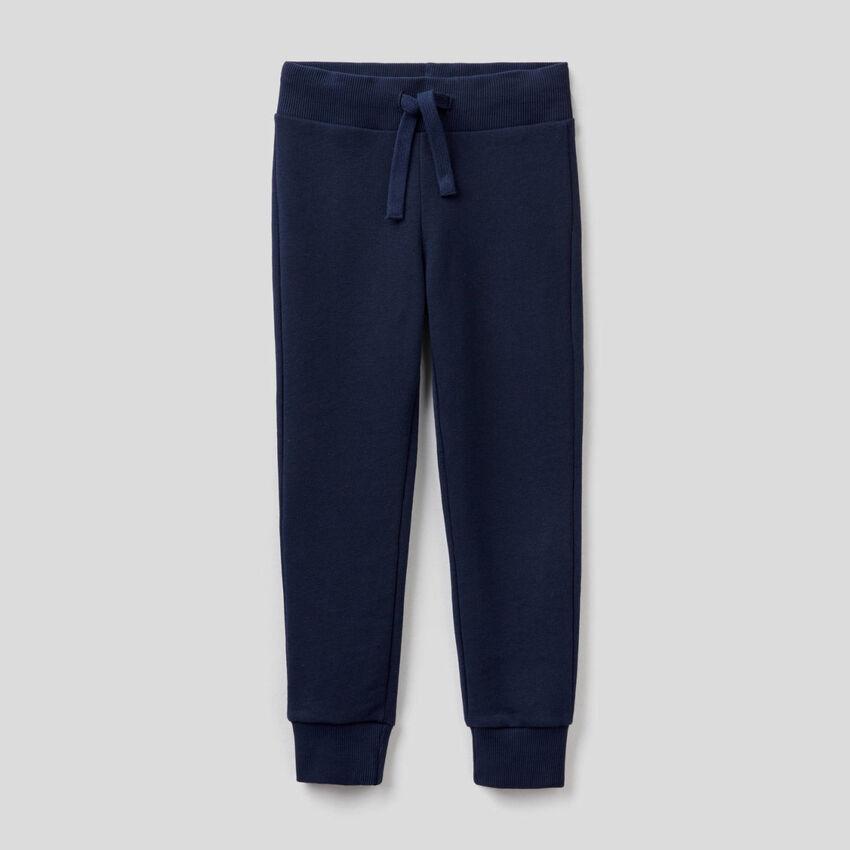 Dark blue sporty sweatpants