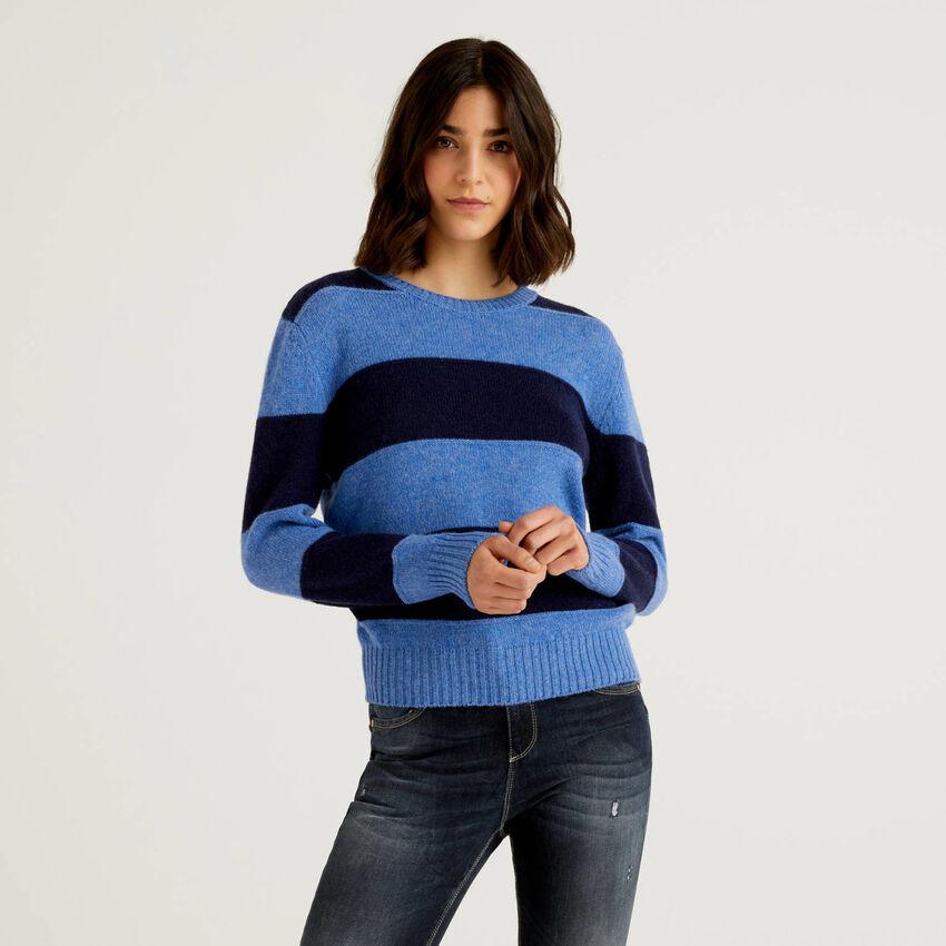 Pull en pure laine Shetland