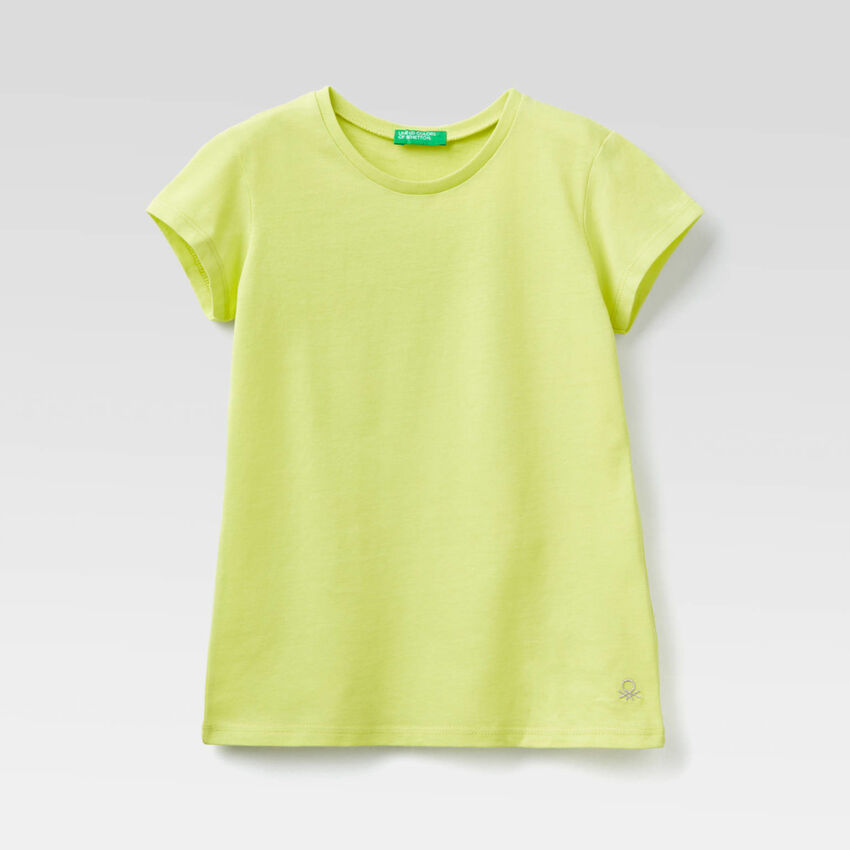T-shirt en pur coton bio