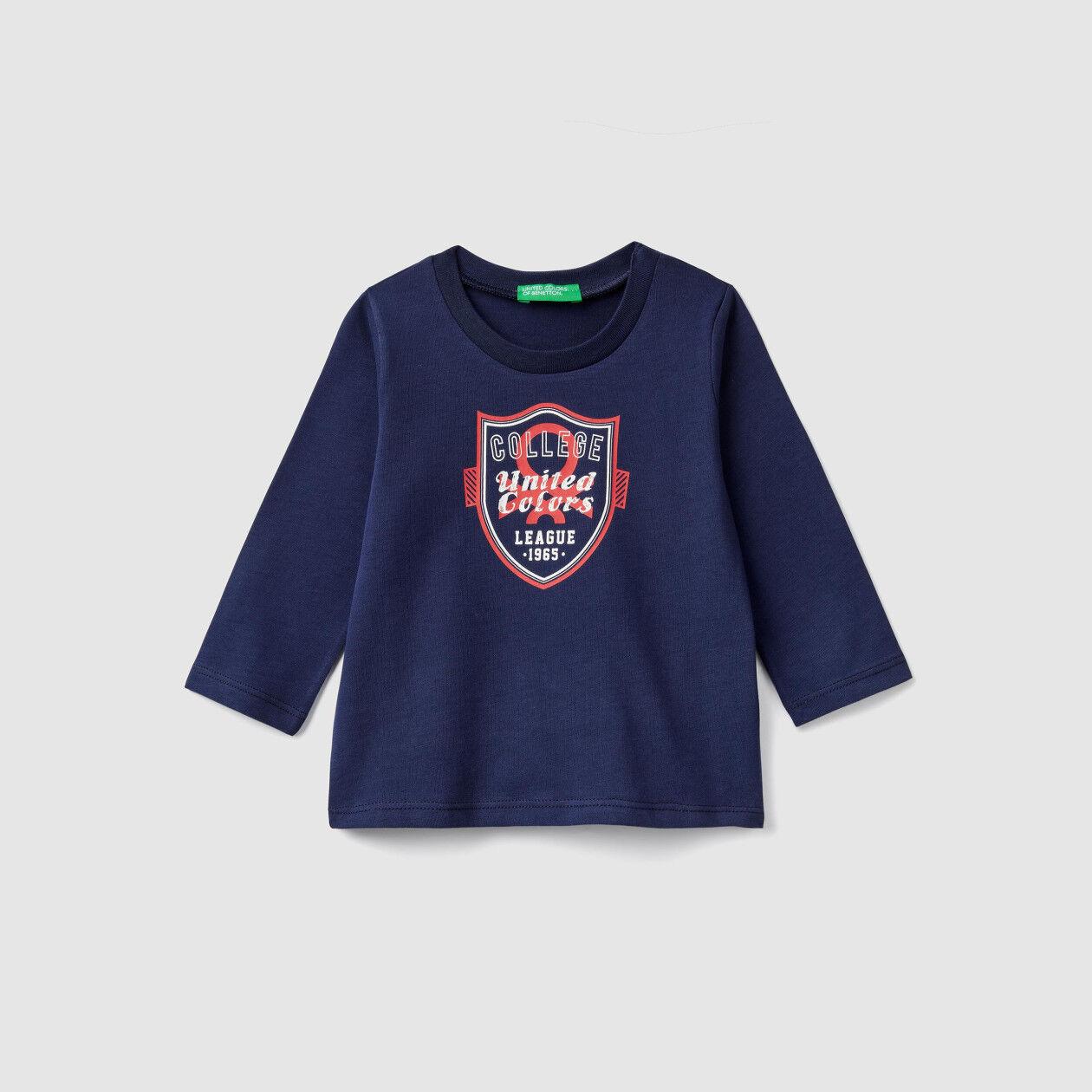 Organic cotton t-shirt with print