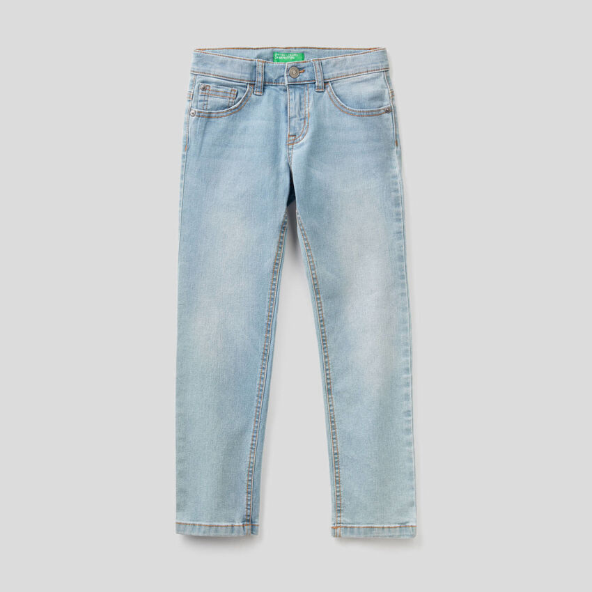 "Slim-Fit-Jeans aus Denim ""Eco-Recycle"""