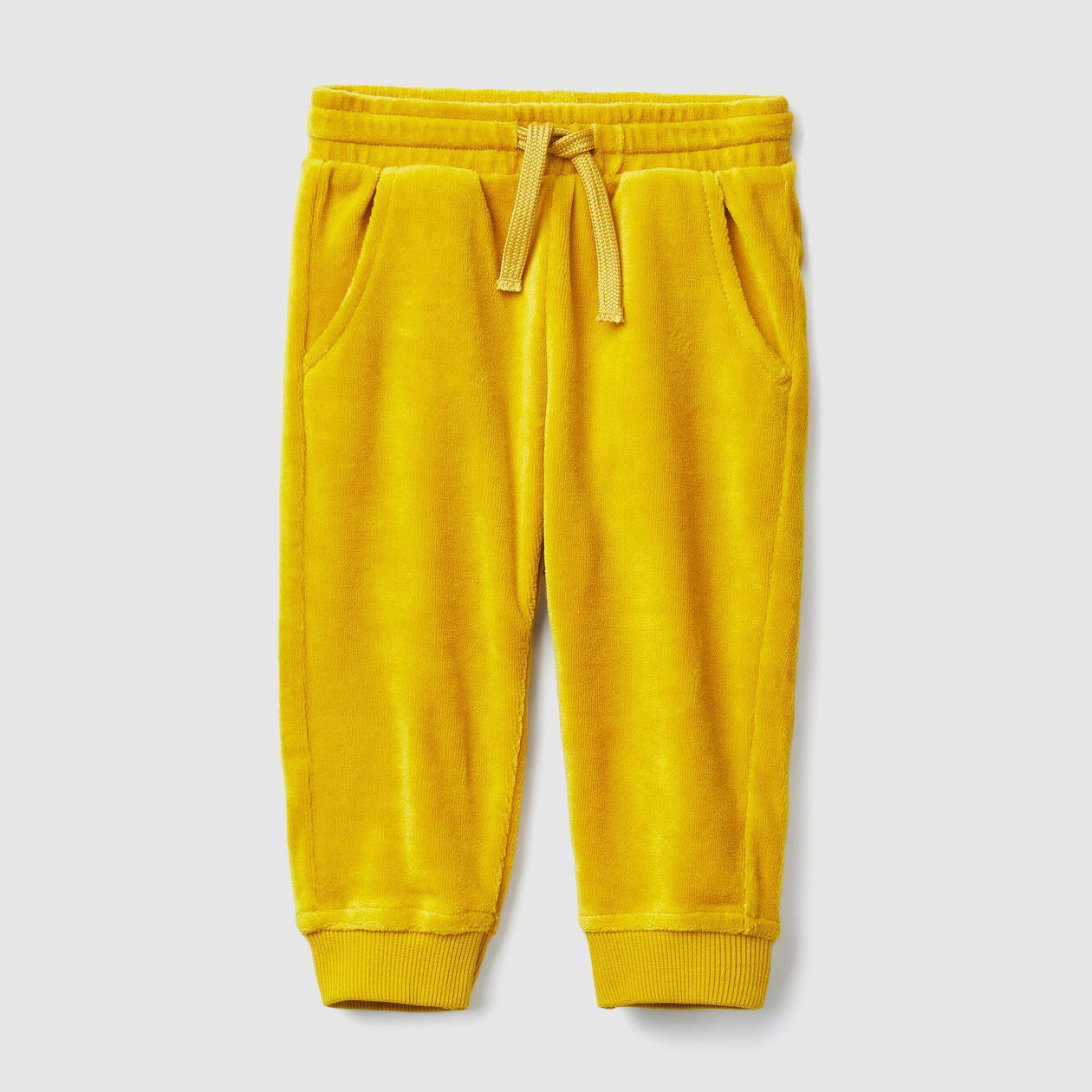 Chenille trousers