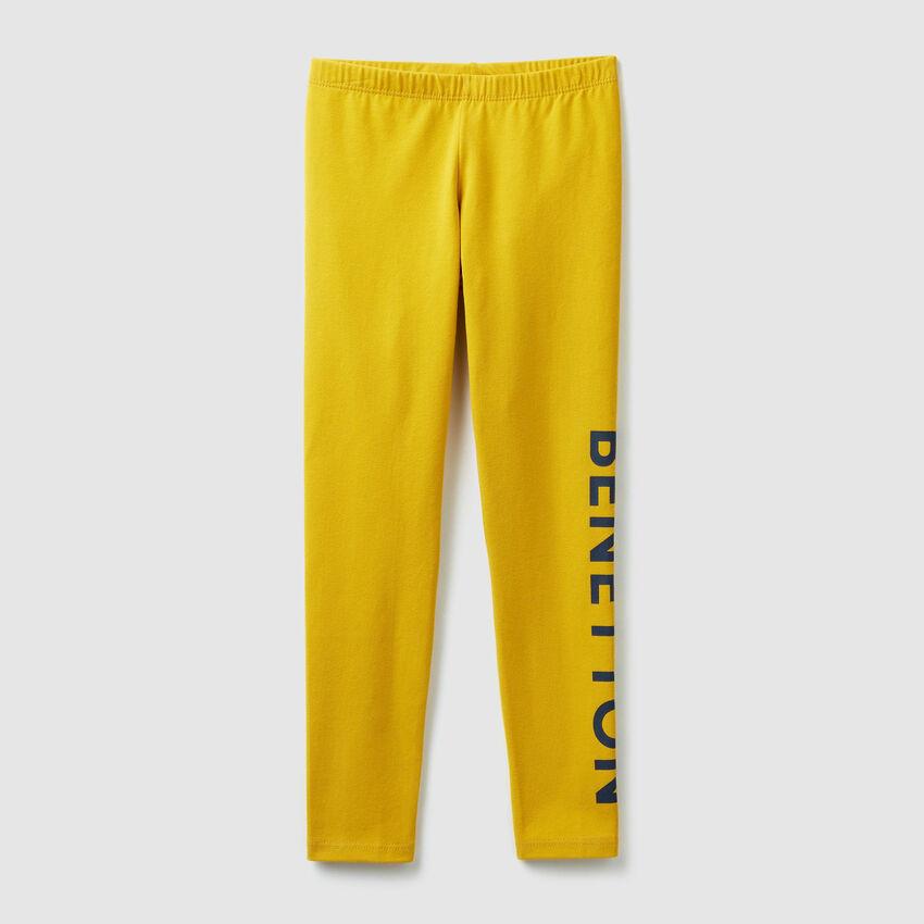 Leggings mit Benetton-Print