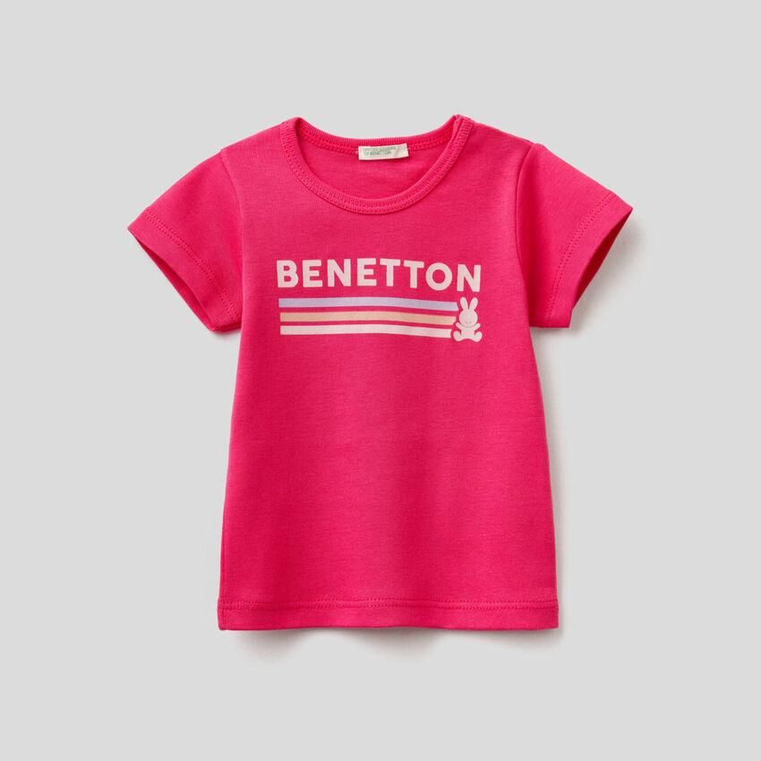 T-Shirt in 100% Bio-Baumwolle