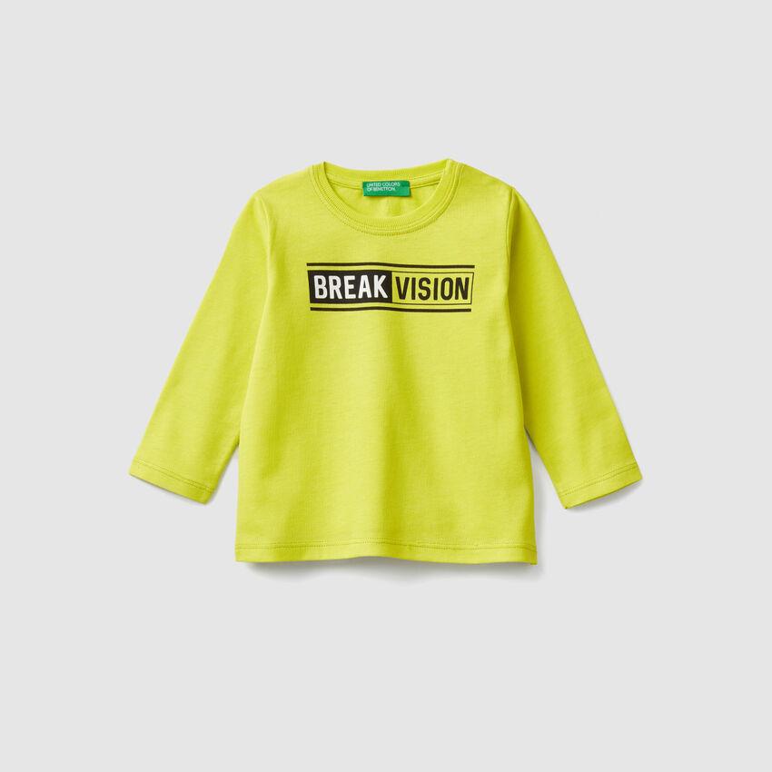T-Shirt aus Baumwolle mit Print