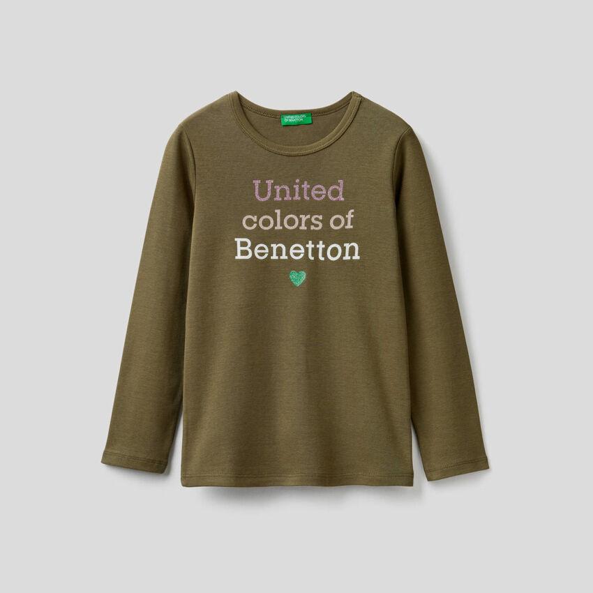 T-shirt manches longues avec logo