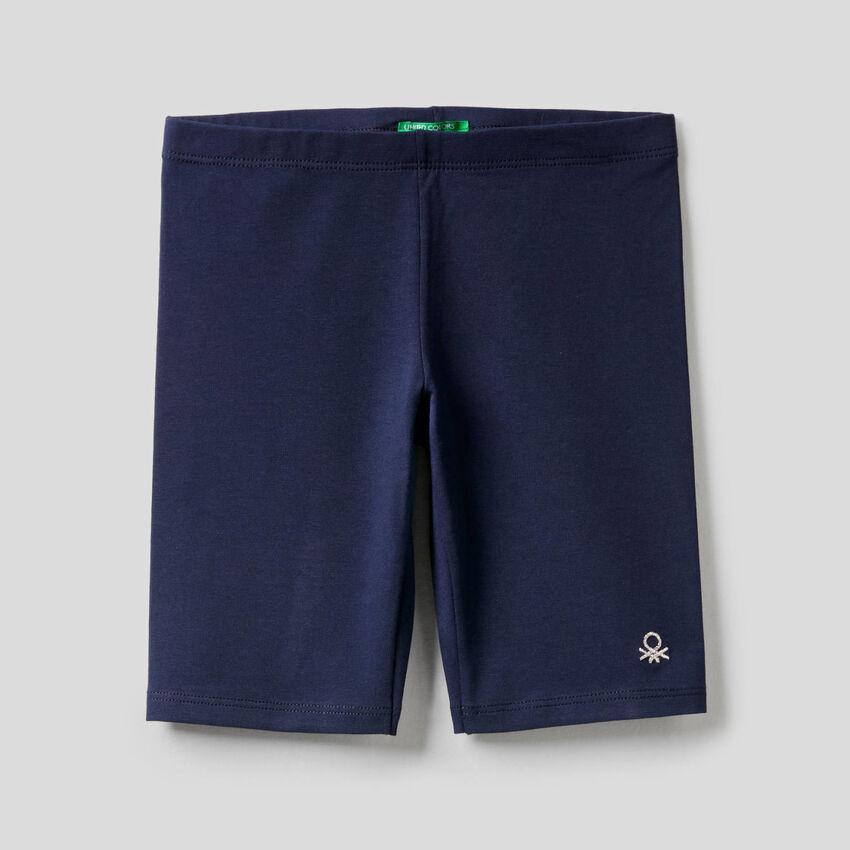 Short en coton stretch