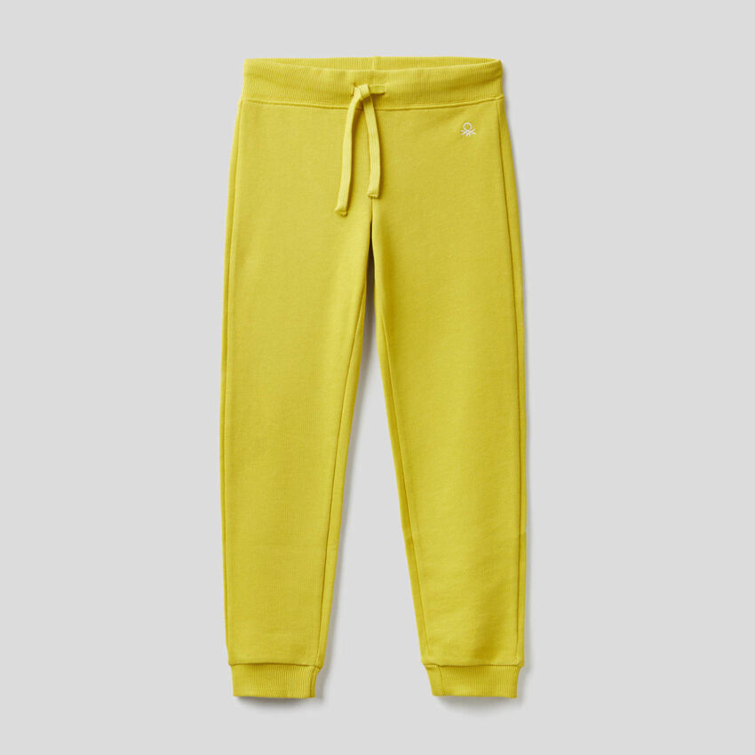 Pantalon en molleton 100% coton