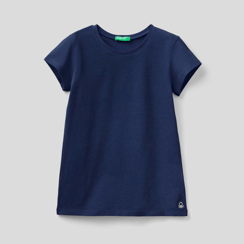 Customizable pure organic cotton t-shirt