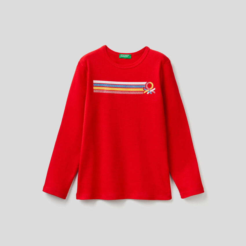 Long sleeve t-shirt with print