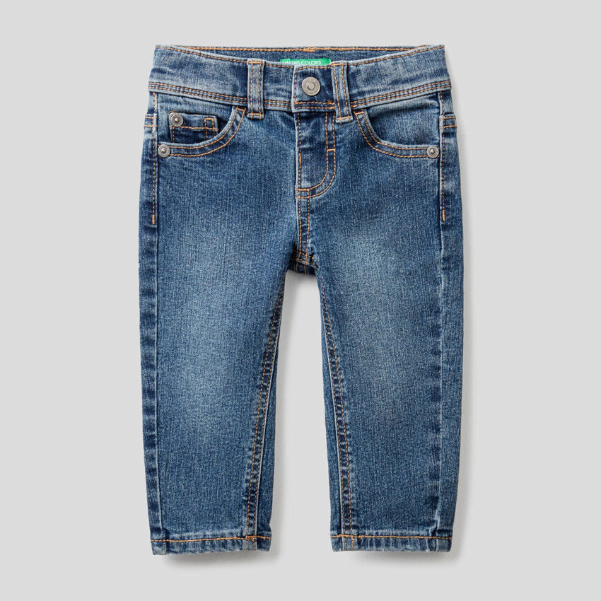 """Jeans coupe slim """"Eco-Recycle"""""""
