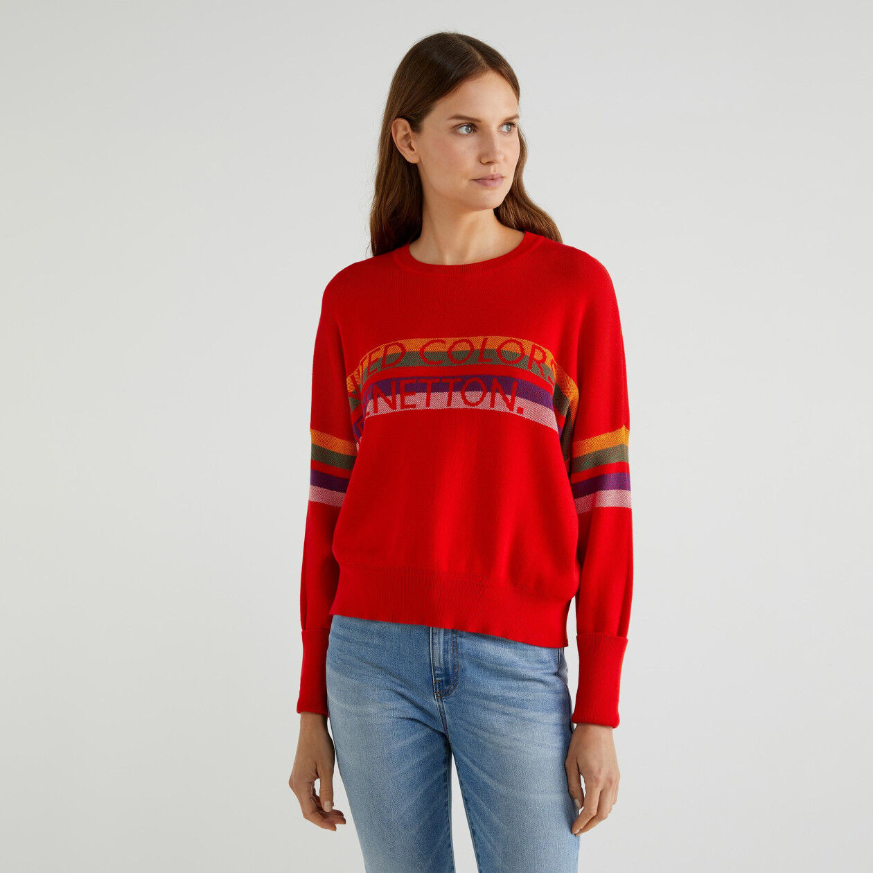 """""""Easy Care"""" cotton sweater"""