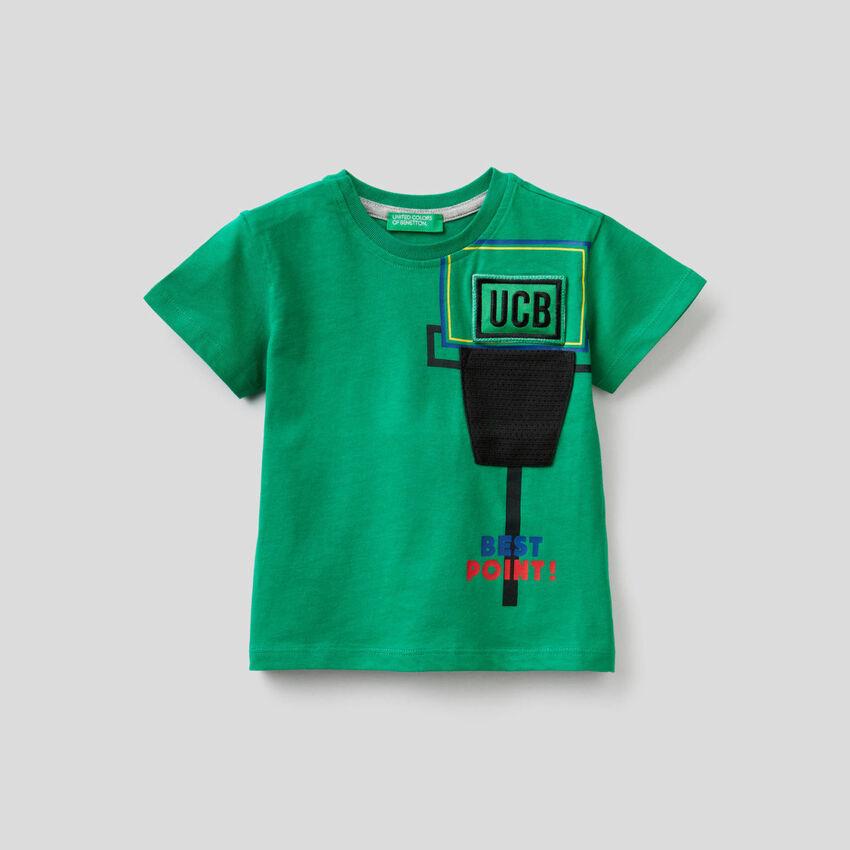 T-shirt avec patch sonore