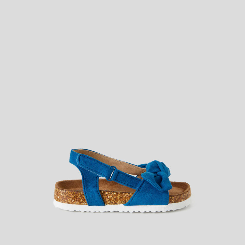 Sandales avec noeud