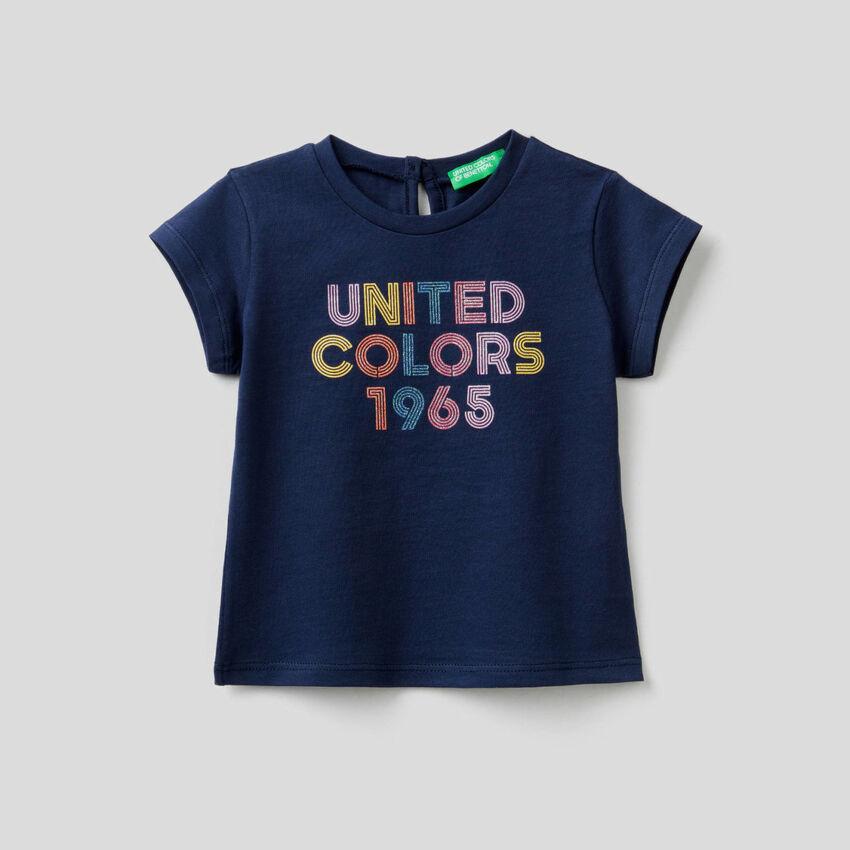 T-shirt en coton bio à imprimé