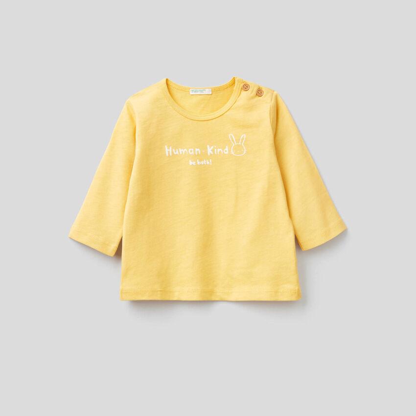 Weiches T-Shirt aus 100% Bio-Baumwolle