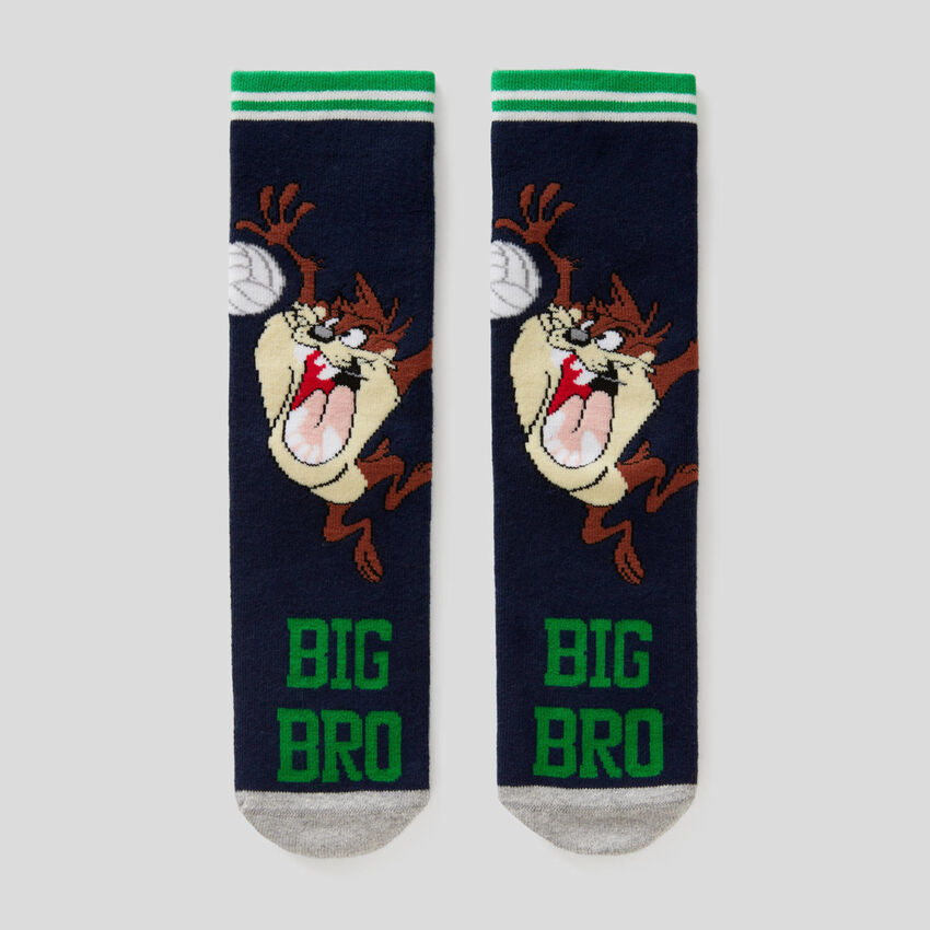 Non-slip Looney Tunes socks