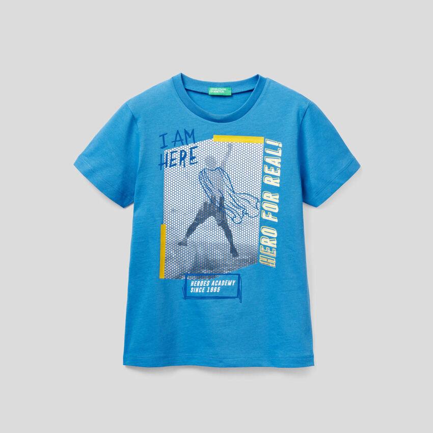 T-shirt avec motif imprimé