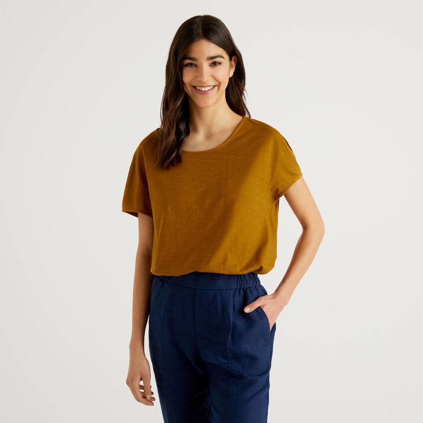 T-shirt oversize en pur coton