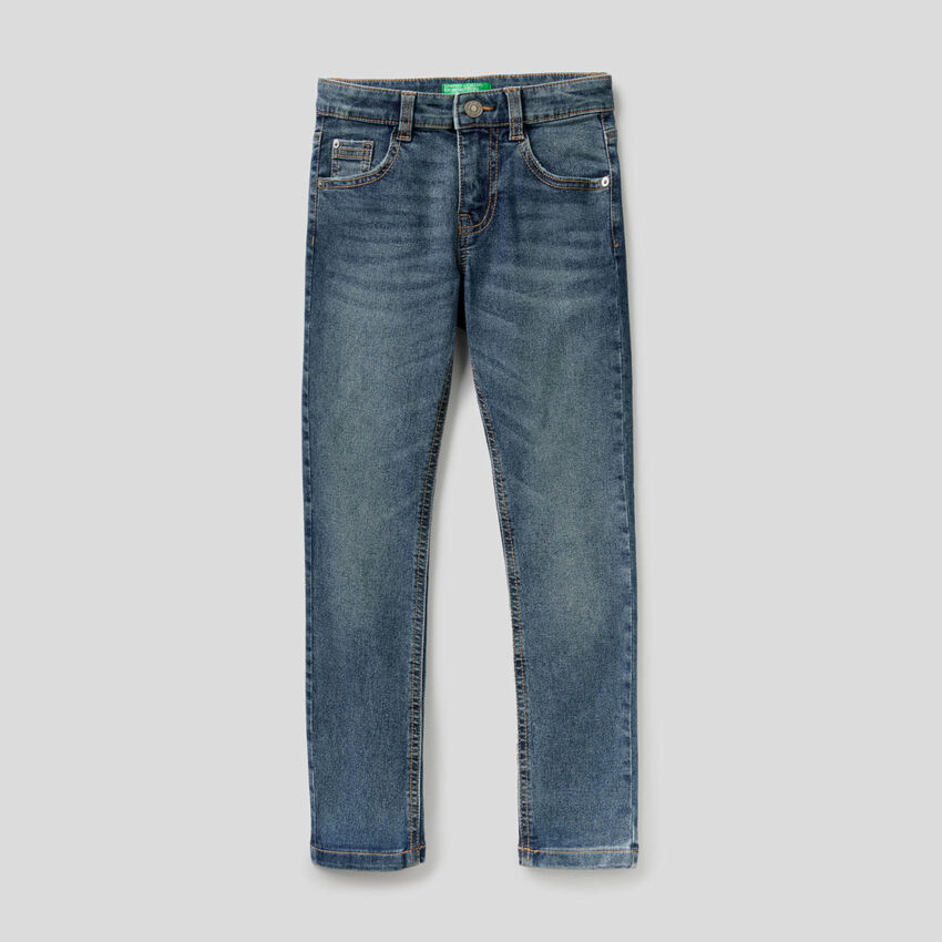 Jeans cinq poches coupe skinny