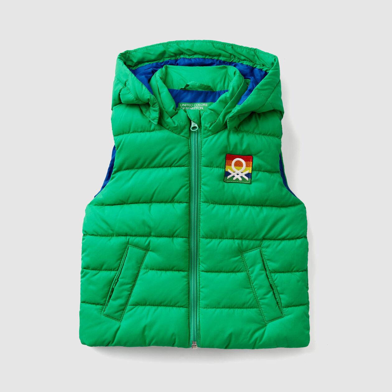 """Rain defender"" sleeveless jacket"