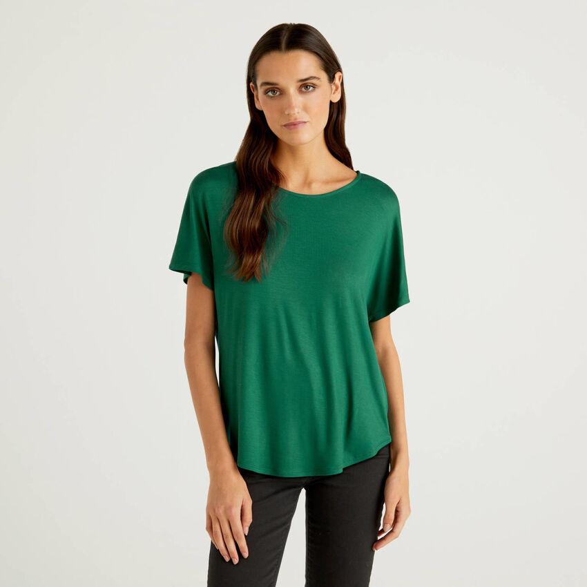 T-shirt en viscose éco-responsable stretch