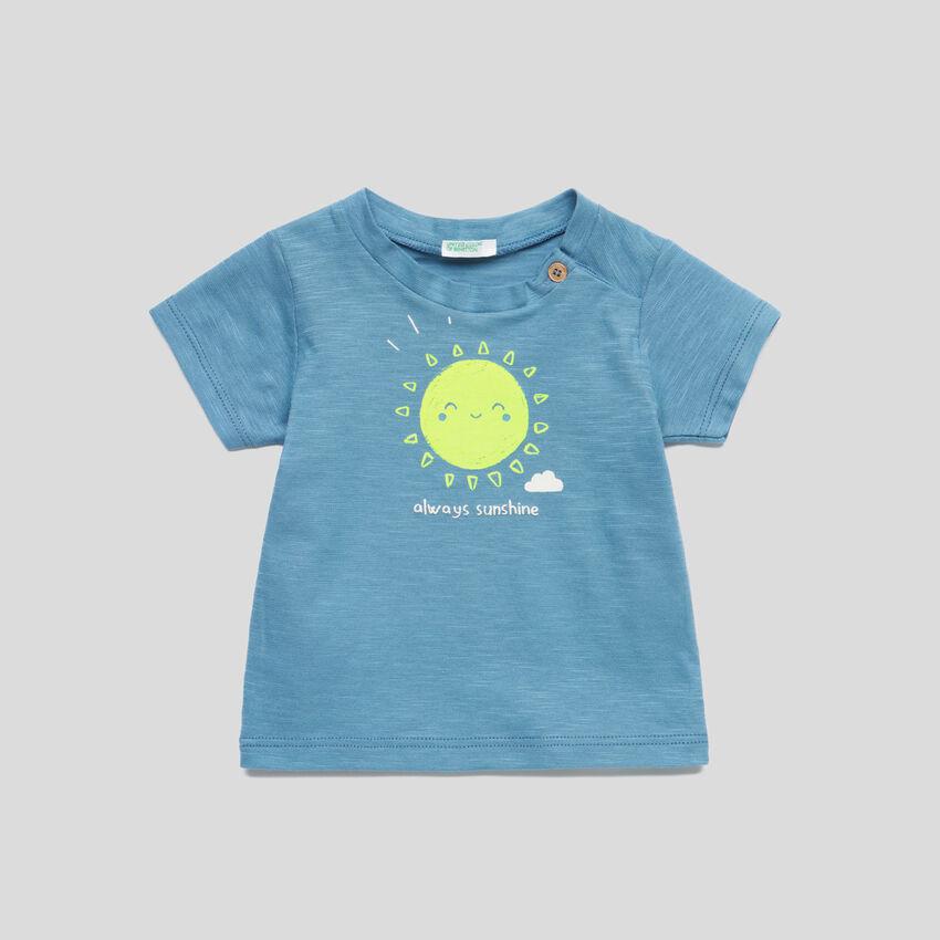 T-shirt en jersey avec imprimé