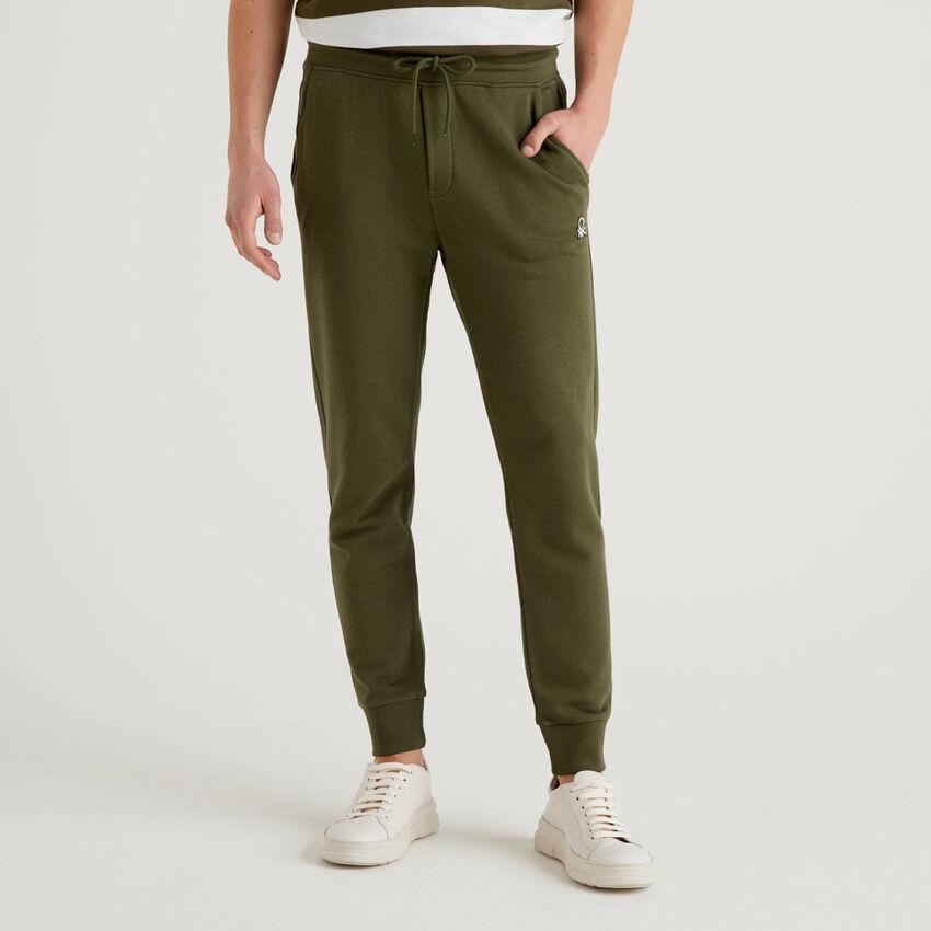 Sweatpants in 100% cotton