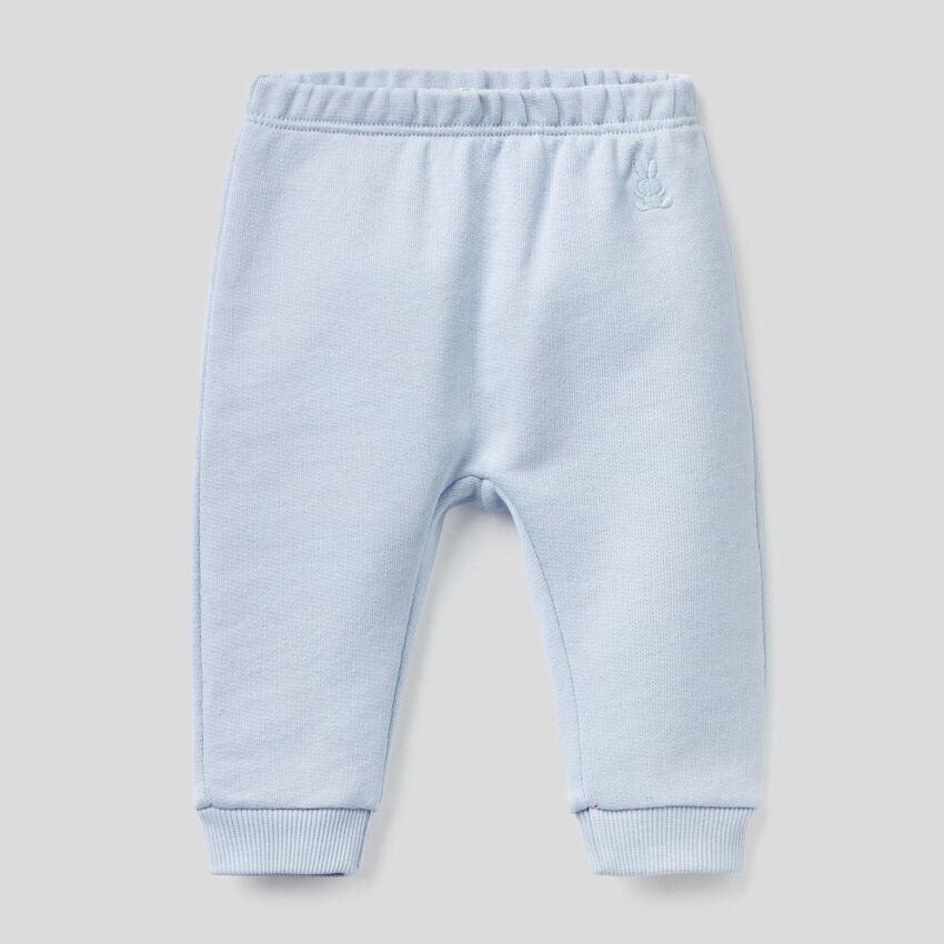 Pantalon en molleton de coton bio