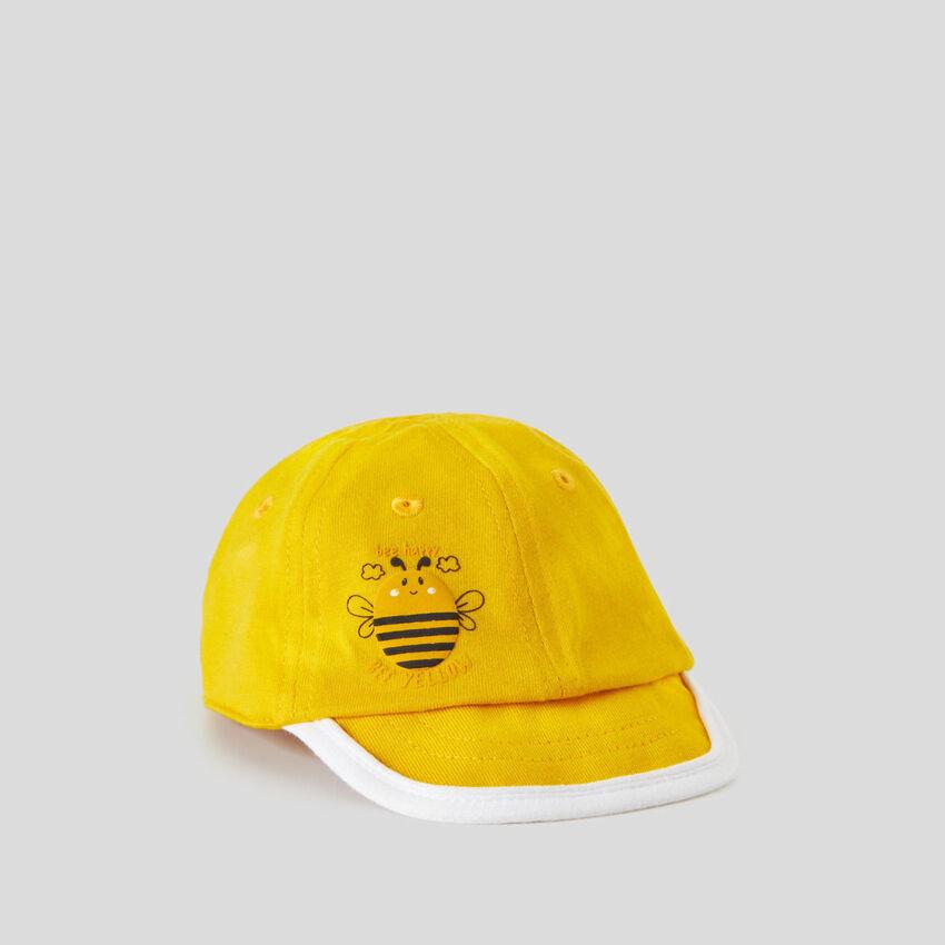 Gelbe Schildkappe