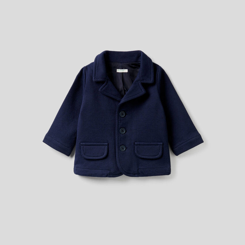 Jacke aus Sweatstoff