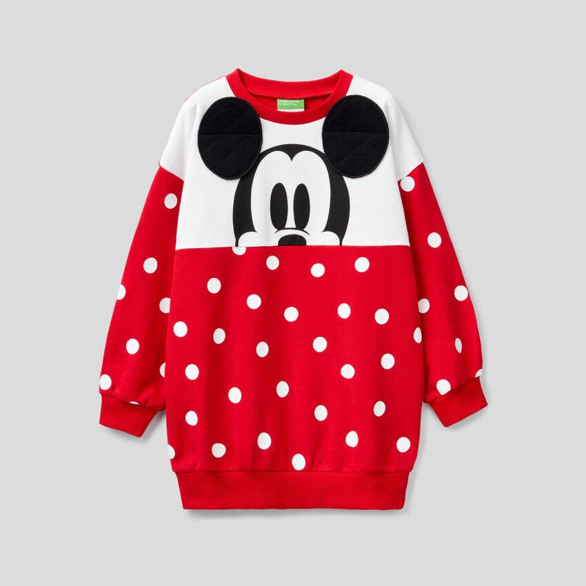Maxi Mickey Mouse polka dot sweatshirt