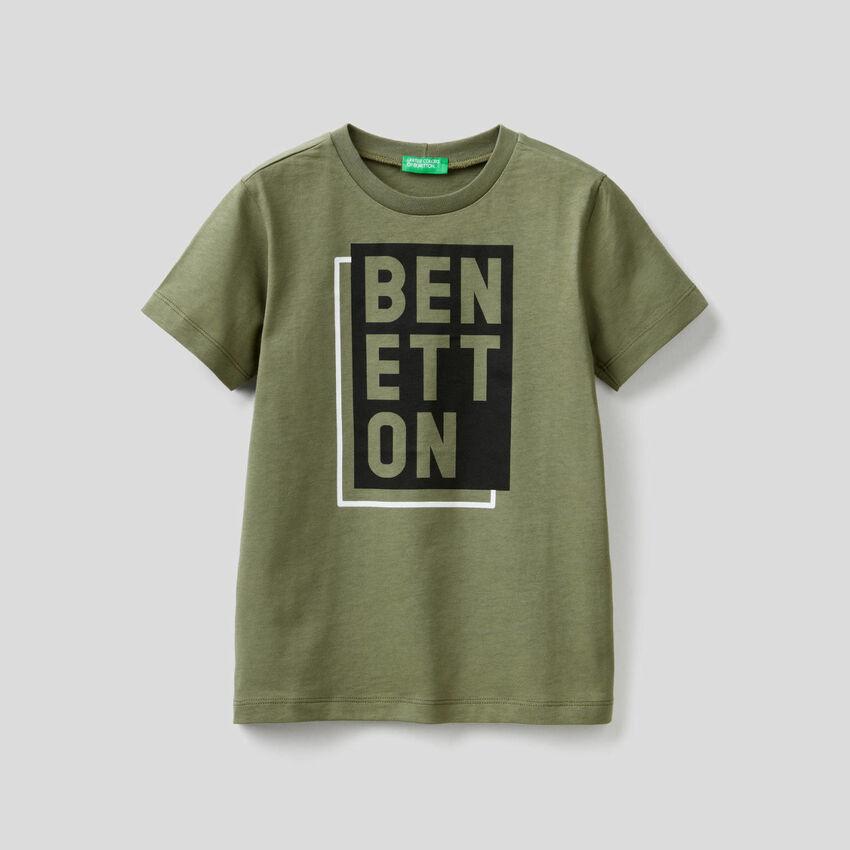 T-shirt 100% coton à imprimé