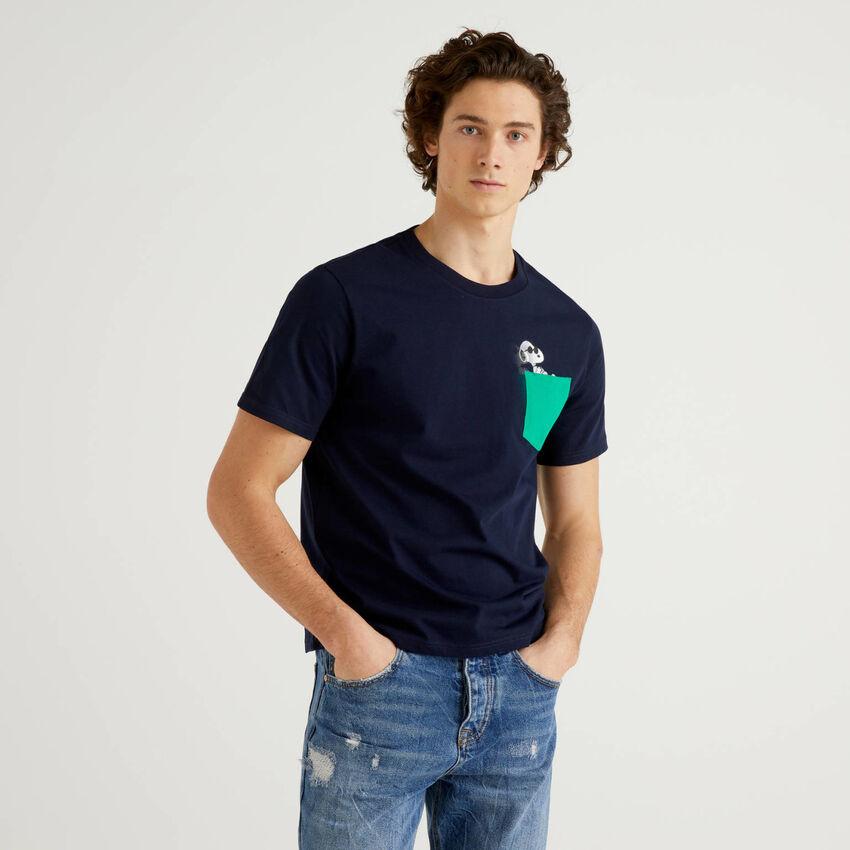 T-Shirt Snoopy aus 100% Bio-Baumwolle