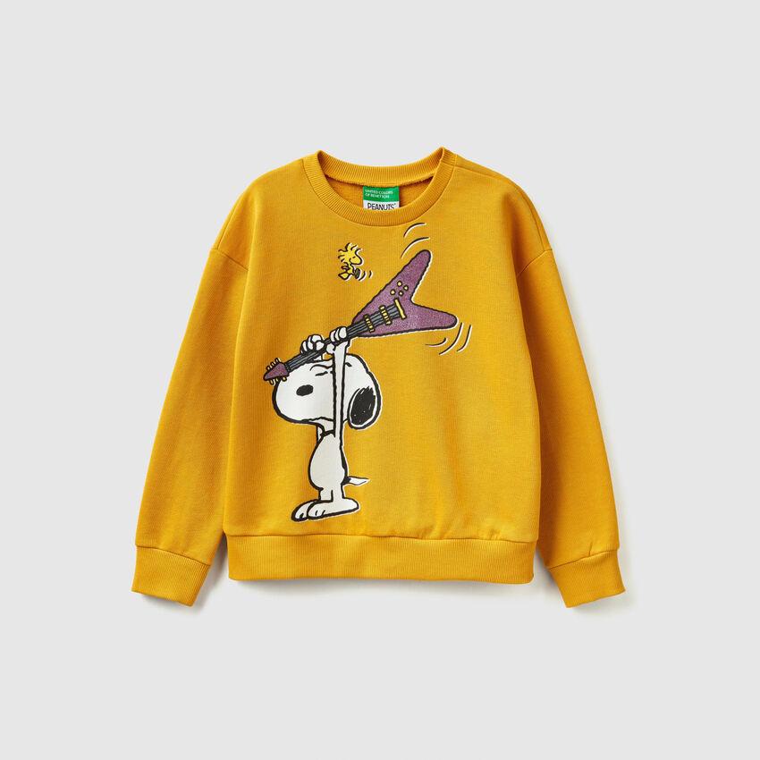 "Sweatshirt mit Print ""Snoopy"""