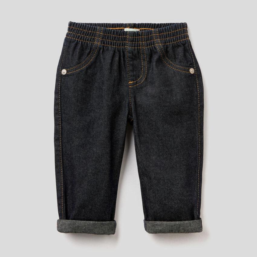 Jeans aus Denim in 100% Baumwolle