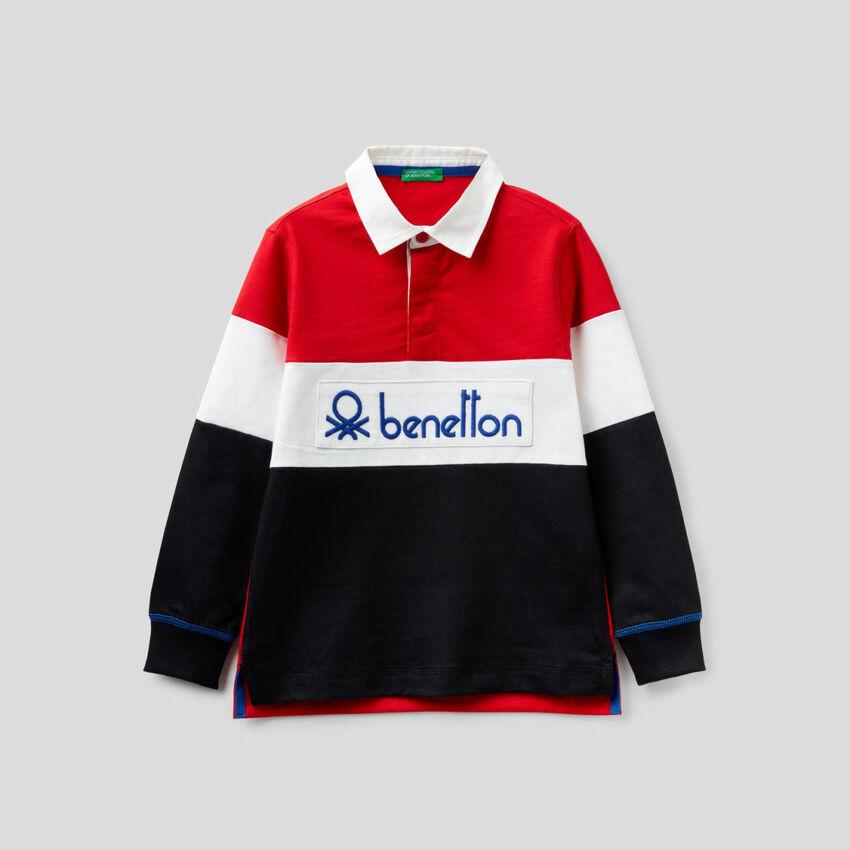 Polo de rugby 100% coton
