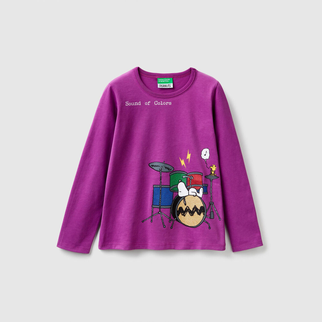 """T-shirt with """"Snoopy"""" print"""