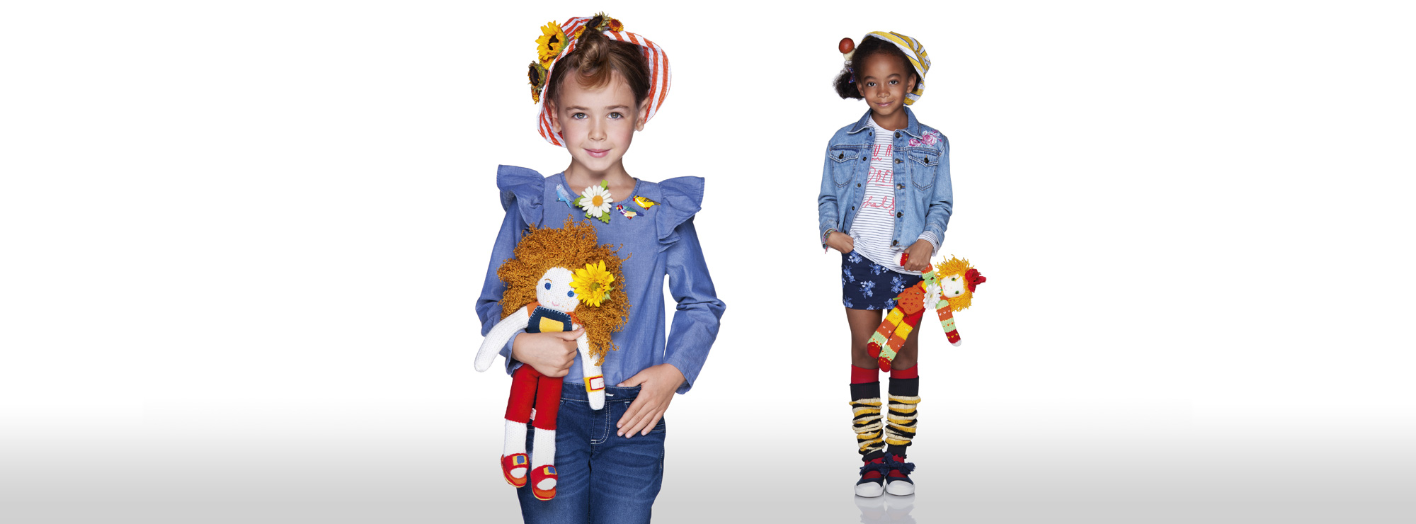 Girl's Denim Benetton